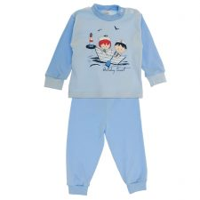 Piżama niebieska