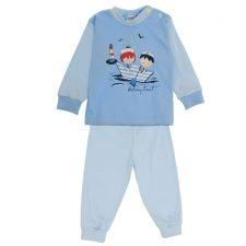 Piżama jasno niebieska