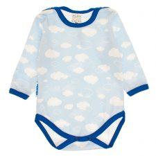 Body niemowlęce niebieskie chmurki