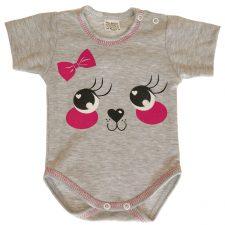 Body niemowlece szare buźka