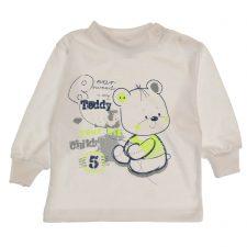 Bluzeczka biała dla chłopca