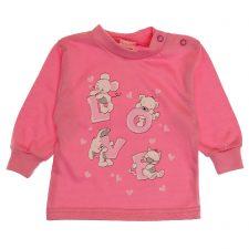 Bluzeczka różowa dla dziewczynki