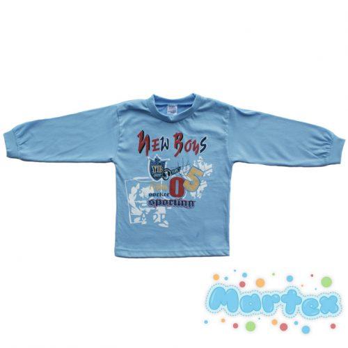Bluzka  niebieska  80-104