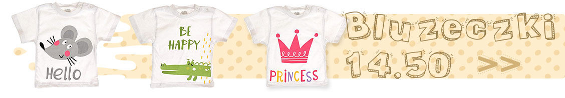 Bluzeczki dla niemowląt