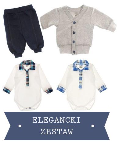 Elegancki zestaw dla niemowlaka
