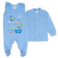 Komplet niemowlęcy niebieski