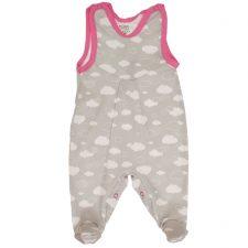 Śpioszki niemowlęce chmurki