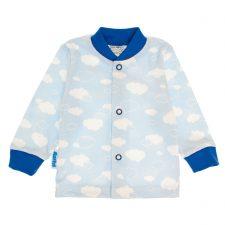 Kaftanik niemowlęcy niebieskie chmurki