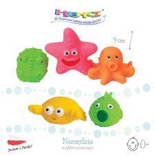 Zwierzaki morskie- żabki trzy