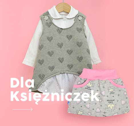 Sukienki spódniczki dla niemowlaków
