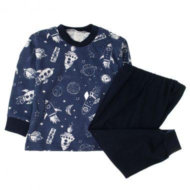 Piżamka granatowa Kosmos