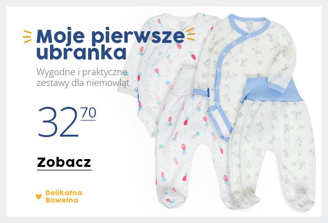 060a3d76cf Ubranka dla niemowląt