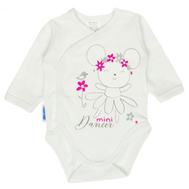 9dcb453ab7b261 Body bawełniane niemowlęce długi, krótki rękaw, na ramiączkach
