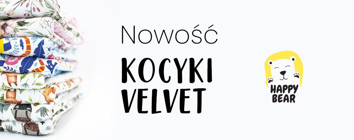 KOcyk bawełniany velvet
