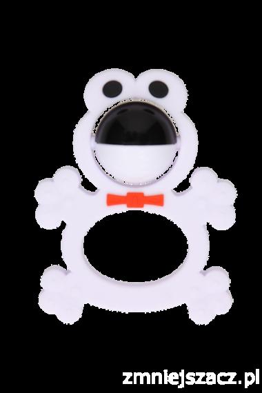 Gryzolki- grzechotka silikonowa żabka